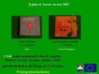 photo Prix Typhlo & Tactus, 8e édition, 2007